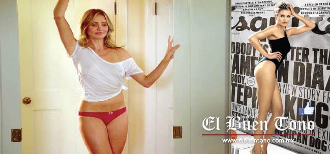 El Buen Tono Cameron Díaz Se Desnuda Por Completo