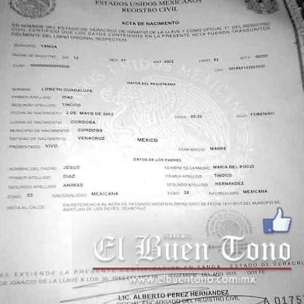 Moderno Pedir Certificado De Nacimiento Falso Friso - Cómo conseguir ...