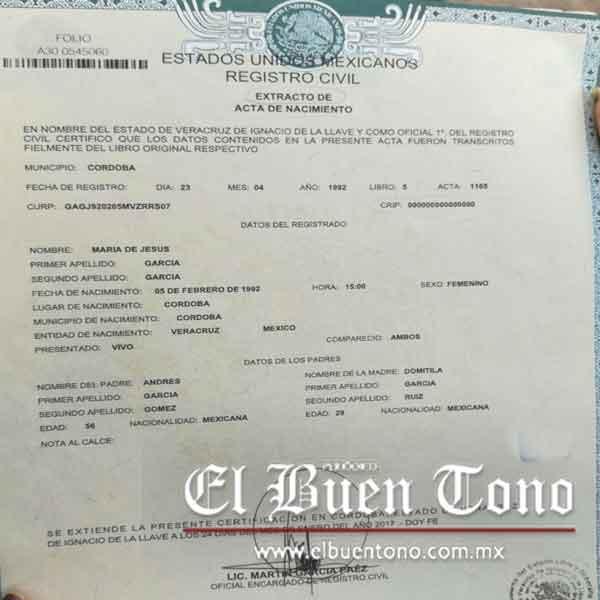 Registro Civil no valida las actas digitalizadas – El Buen Tono
