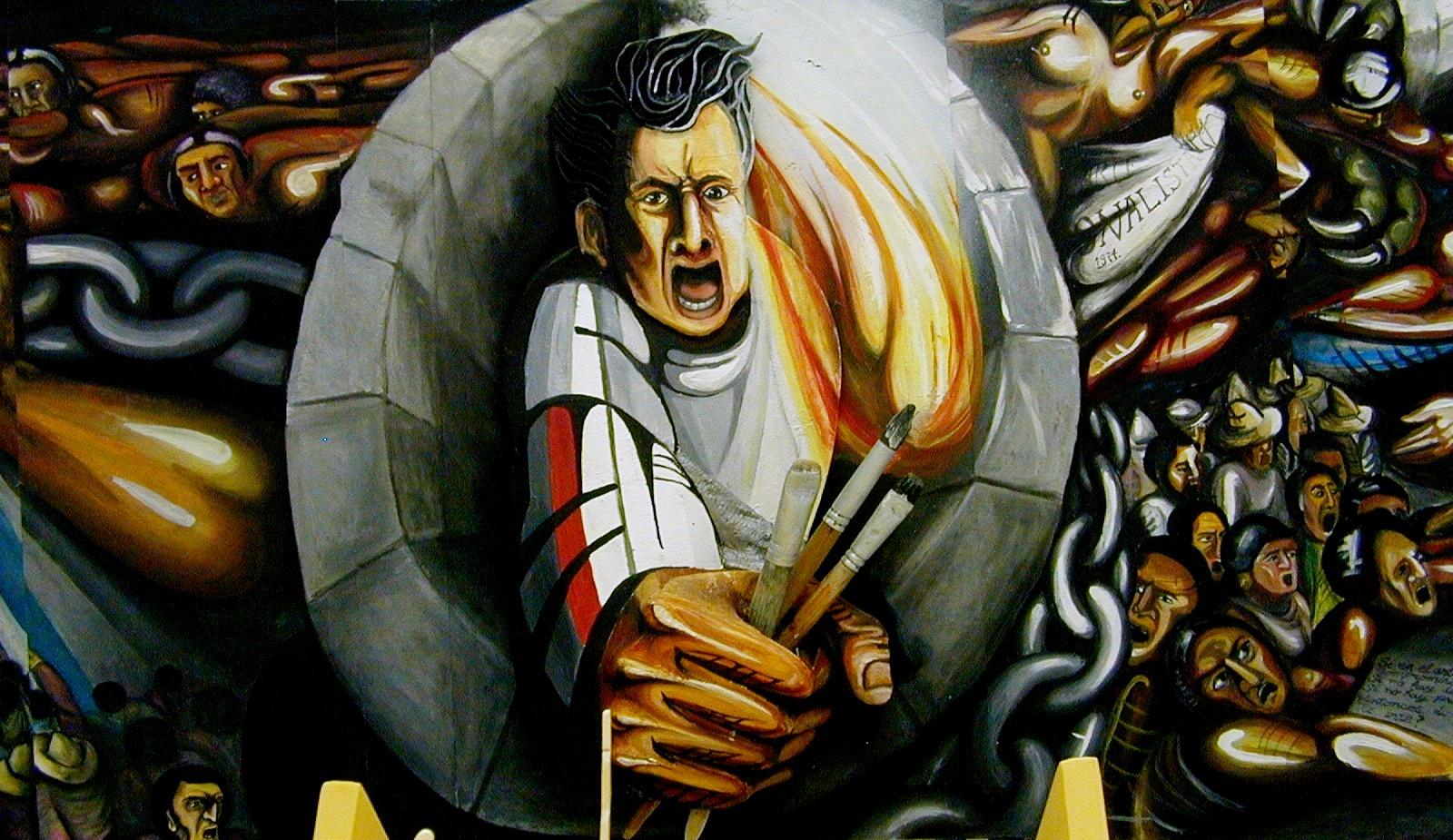 El Buen Tono Muralistas Mexicanos Exponen En Italia